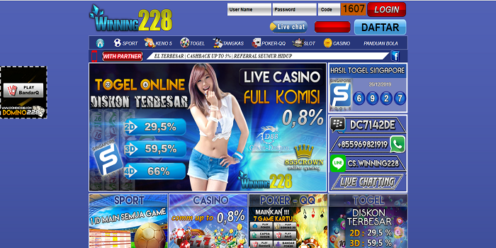 The Characteristics of On the internet BandarQ Gambling Available in Dalam Negri